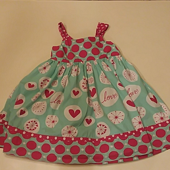 Jelly The Pug Other - Jelly the Pug size 7 love reverse knot dress